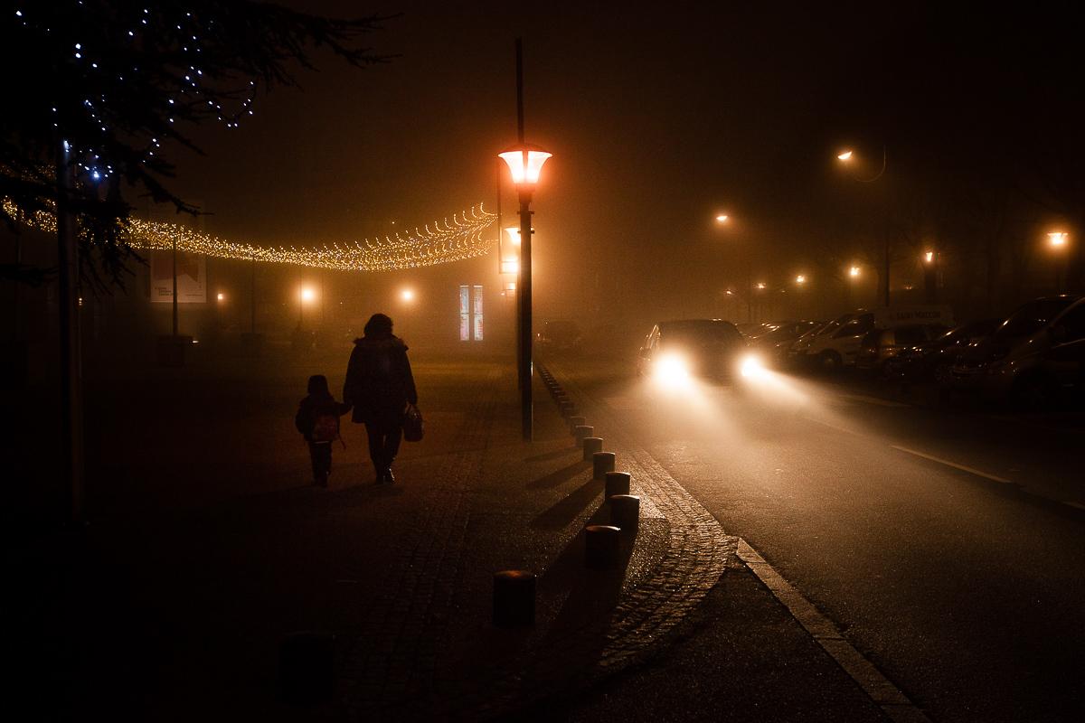 La nuit à Vélizy
